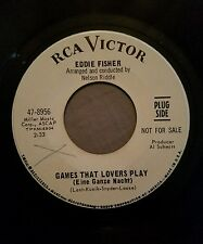 Eddie Fisher WLP promo 45 Games That Lovers Play / Mame Richard Wess RCA Victor
