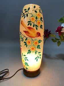 handbemalt Orient Lampe Kamelleder Tischlampe Camel Skin leather Table lamp IT16