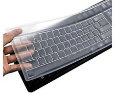 Universal Desktop Keyboard Protective Skin Silicone Protector Cover Clear Film
