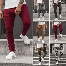 Chinohose Clubwear Straight Chino Jogger Camo Joggerhose Herren OZONEE G/11119