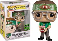 The Office Dwight Schrute as Recyclops Funko Pop! Vinyl 2020 ECCC Excl DAMAGED