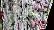 un rideau ancien coton blanc@curtain old