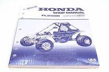 New Genuine Honda Service Shop Repair Manual 1985 FL350 R Odyssey OEM Book #M43
