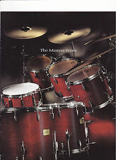 VINTAGE MUSICAL INSTRUMENT CATALOG #10579 - 1997  PEARL DRUMS - MASTER SERIES