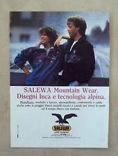 D926 - Advertising Pubblicità -1988 - SALEWA ALPINE TECHNOLOGY