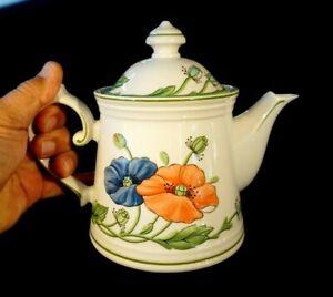 Beautiful Villeroy Boch Amapola Teapot