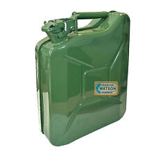 10 LITRE Metal JERRY CAN Fuel Liquid Oil Green Military Army Container