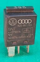 Audi VW 5-Pin Black Relay No 395 Multi-Use 8Z0951253 Tyco V23074-A1001-X50