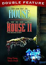 House Double Feature (House, House II: The Second Story) New DVD! Ships Fast!