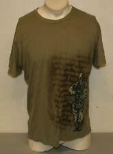 Apprime US Army Military Courage Above All Sz Large Tan Soldier