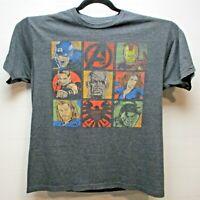 Avengers Short Sleeve Men's X-Large Marvel Tee Shirt Dark Gray