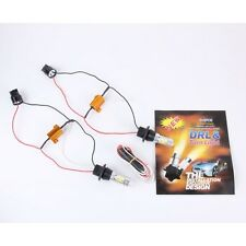 2 PCS T20-7440-5630 35W 800LM  10x 2835W + 10 x 2835Y White + Yellow  Light DRL&
