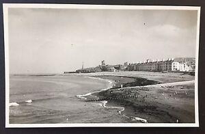 ABERYSTWYTH Vintage 1952 PHOTOGRAPH 13.5cm x 8.5cm WALES South Bay BEACH 353