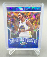 2018-19 Contenders Optic KEVIN DURANT Winning Tickets Blue Ice