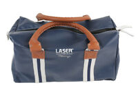 LASER TOOLS RACING SPORTS HOLDALL BAG  500mm X 250mm X 270mm  BLUE LEATHER