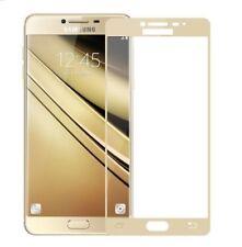 Samsung Galaxy J7 2017 - Schutzfolie Gold 3D FULL COVER Panzerfolie Schutzglas