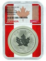 2014 Canada 1oz Silver Maple Leaf Chicago ANA Privy NGC Reverse Proof PF69