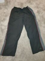 (SALE) Reebok Ski Type Trousers Vintage Black/Grey Size XL