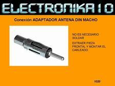 Conector Antena macho para soldar (Cod. Tec-kin051020)