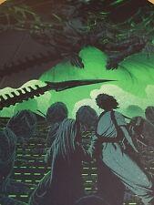Kevin Tong Aliens Mondo Art Print James Cameron Movie Poster Xenomorph Ripley
