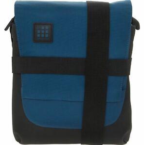 Unisex Moleskine Crossbody Shoulder Dusk Blue Black Bag New W21cm H27cm