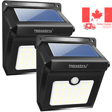 Solar Lights Solar Motion Sensor Security Lights 28 LED Waterproof Solar Wall...