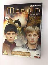 BBC Series Merlin DVD 3 Disc Set,  Series One Episodes 1- 6