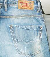 *HOT AUTHENTIC Men's DIESEL @ KROOLEY Art 884C - Slim CARROT Denim Jeans 31 x 32