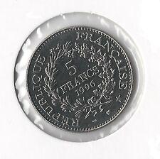 5 FRANCS (HERCULE) - 1996 - Pièce de Monnaie Commémorative  // Qualité: TTB