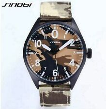 SINOBI Men's Casual Quartz Military Watch