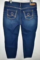 Seven 7 Seven7 Luxe Skinny Stretch Jeans Womens Size 16 Blue Meas. 37x27.5