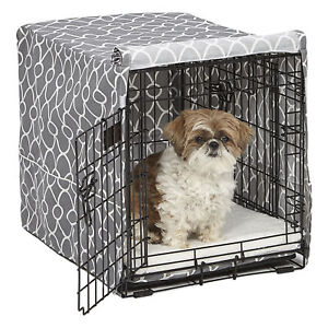 MIDWEST Privacy Dog Cage Crate Cover, 24L x 18W x 19H for ICrate 1524, 1524DD