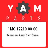 1MC-12210-00-00 Yamaha Tensioner assy, cam chain 1MC122100000, New Genuine OEM P