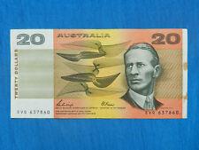 1989 Australia 20 Dollar Banknote *P-46f*    *XF*