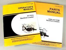 Operators Parts Manual Set For John Deere 310a Tractor Loader Backhoe Catalog