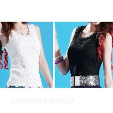 Lace Hip Length Casual Tops & Shirts for Women