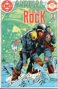 Sgt. Rock Annual #4 VG 1984 Stock Image Low Grade
