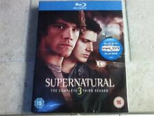Supernatural The Complete Third 3rd Season (Blu-ray, 2008, 3-Disc Set) NEW