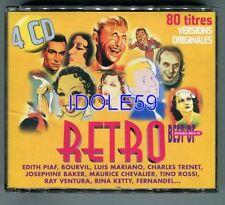 CD de musique rétro pour chanson française avec compilation