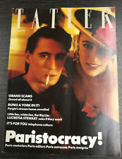 Tatler Magazine March 1988
