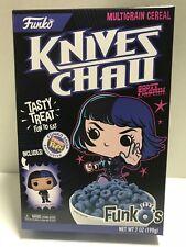 Funko Shop Scott Pilgrim's Knives Chau FunkO's Cereal W/ Pocket Pop 2018 Sealed