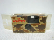 NOS Vintage 1970's Winchester Fuji Japan Camouflage Point & Shoot Camera