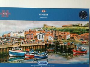 Brand New Gibsons 636 Piece Jigsaw Puzzle - WHITBY