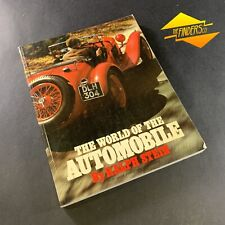 """""""THE WORLD OF AUTOMOBILES"""" BY RALPH STEIN ITALIAN-PRINTED AUTOMOBILIA SOFT COVER"""