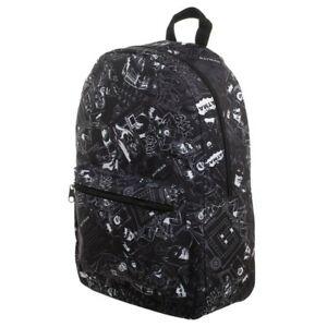 Bioworld Batman Comic Book DC Comics Laptop Backpack School Book Bag