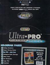 ULTRA PRO PLATINUM 100 1-карманный страницы, новый, бесплатная доставка
