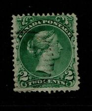 Canada SC# 24, Used, sm ctr thin - S10789