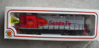 Vintage HO Scale Bachmann Santa Fe EMD GP-50 Locomotive in Box 41-0612-02