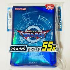 Konami Yugioh Duelist Card Protector VRAINS 55 Sleeves Japanese