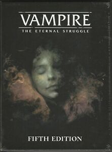 Vampire: The Eternal Struggle Fifth Edition Set Preconstructed Decks VTES Jyhad